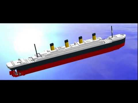 Lego Titanic Mini Model