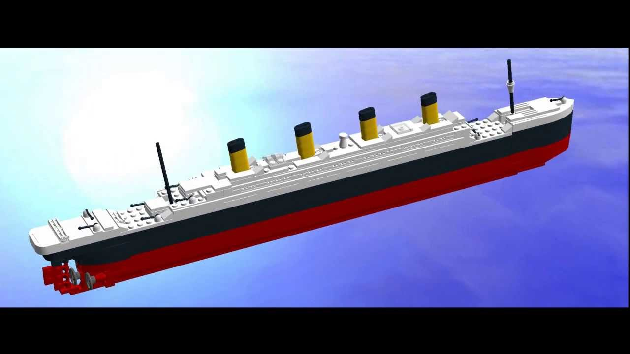 Lego Titanic Mini Model Youtube