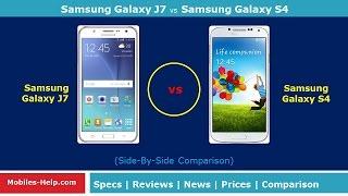 Samsung Galaxy J7 vs Samsung Galaxy S4 - Which is Better?