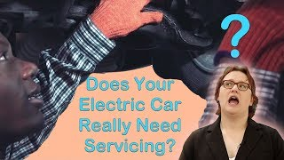 Does Your Electric Car Really Need Servicing?