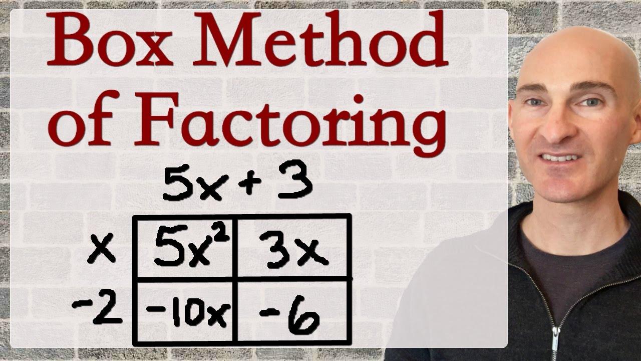 Box Method of Factoring Trinomials