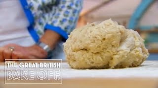 Preparing the Dough for Iced Buns - The Great British Bake Off