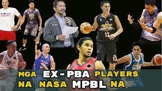 Mga ex-PBA Players na Naglalaro sa MPBL Ngayong 2019 Season (Part 1)