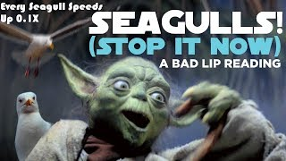 """""""SEAGULLS! (Stop It Now)"""" Every Seagull Speed Up 0.1X"""