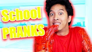 Edible School Pranks!!! **EDIBLE SHIRT!!**