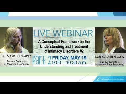 WEBINAR | EARNING SECURE ATTACHMENT | DR. MARK SCHWARTZ and LORI GALPERIN | PART 2