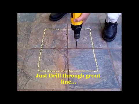 How To Fix Loose Hollow Tiles Dont Remove Or Replace Fix A