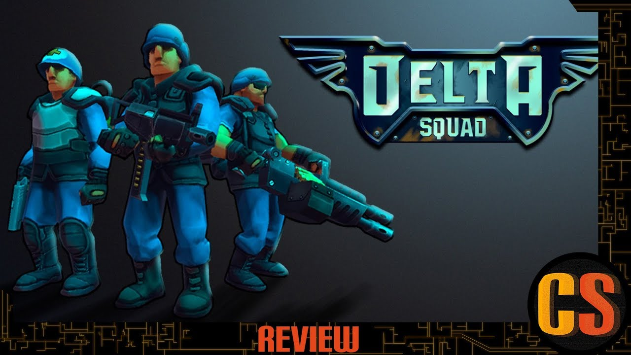 DELTA SQUAD - PS4 REVIEW (Video Game Video Review)