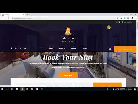 Online Hotel Reservation System Full Source Code