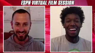 James Wiseman virtual film session with Mike Schmitz   2020 NBA Draft
