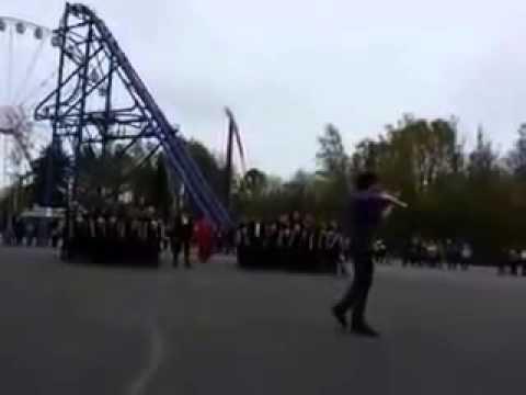 Флэш моб Шерлок Санкт Петербург Крестовский 110