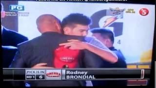 Barangay Ginebra Picks Rodney Brondial | 2014 Pba Rookie Draft