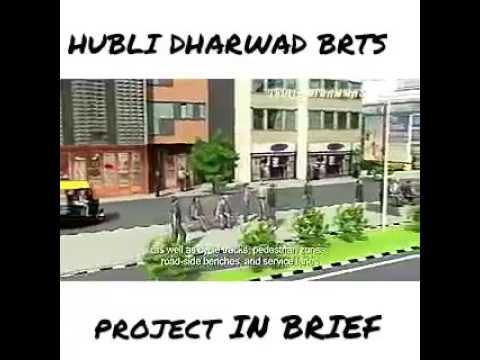 Hubli-dharwad new road project plan