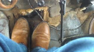 '55 Chevrolet dump truck COLD START