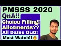 Gambar cover PMSSS 2020 All Doubts Solved|Important QnA Session|Must Watch for All🔥🔥