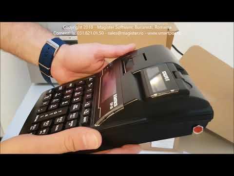 Unboxing Casa de Marcat Datecs DP25 by Magister Software