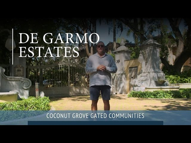 DeGarmo Estates | Coconut Grove Gated Community