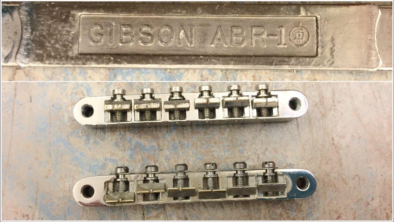 1950s Gibson ABR-1 Bridge KILLS today's stuff