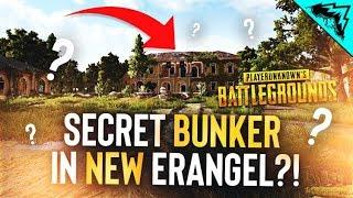 Finding a SECRET BUNKER in NEW Erangel - PUBG