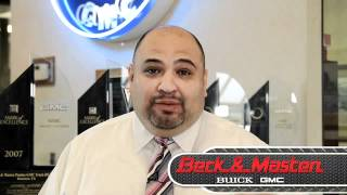 Beck and Masten Buick GMC New Car Sales