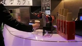 Робот готовит кофе смотреть онлайн видео от ТехноРеволюция в хорошем качестве