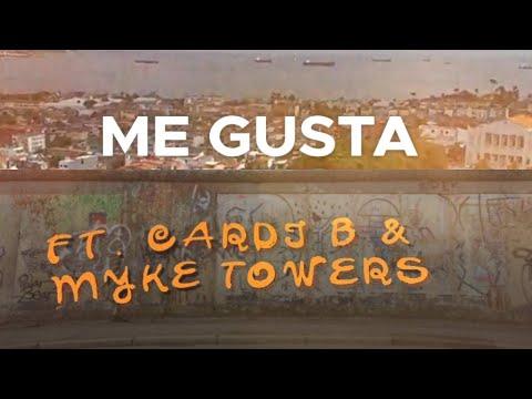 Me Gusta (feat. Cardi B & Myke Towers) [Lyric Video]