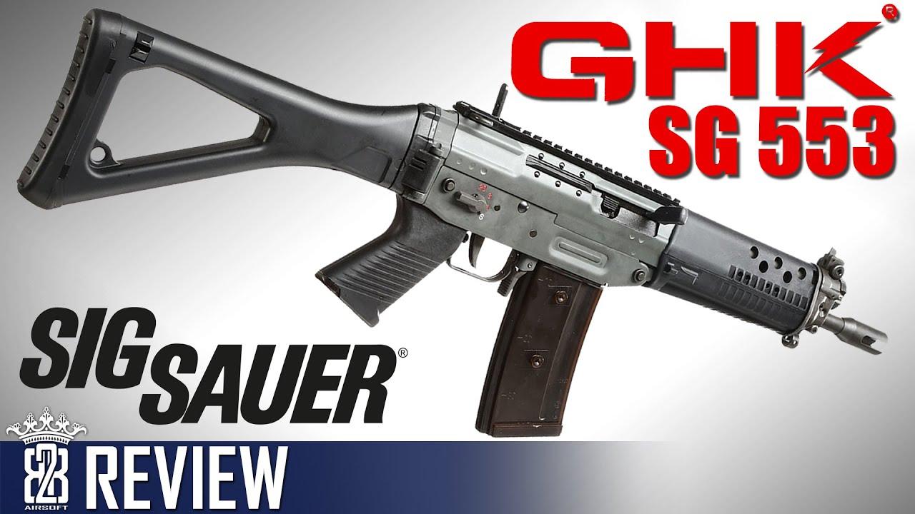 Download GHK SIG SG 553 GBB - Sig Sauer Swiss Arms STGW 04/07 - Airsoft Deutsch