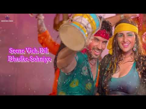 Khadke Glassy (LYRICS) - Jabariya Jodi | Sidharth M,Parineeti | Yo Yo Honey Singh