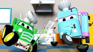 малыши в Автомобильном Городе - Продажа ВЫПЕЧКИ - детский мультфильм