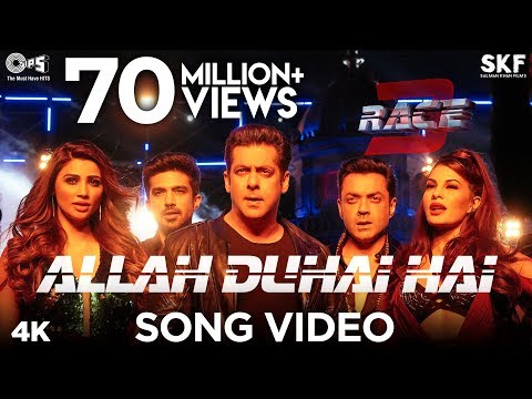 Allah Duhai Hai Song Video - Race 3 |...