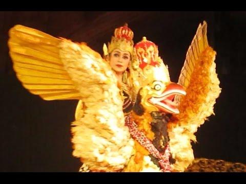 Tari BURUNG GARUDA Jogja - Wayang Orang Wong Yogyakarta - Javanese BIG BIRD Dance [HD]