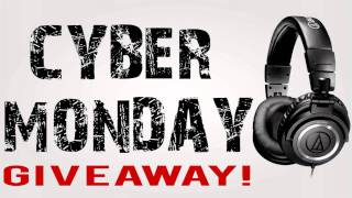 Cyber Monday GIVEAWAY: ATH-M50 Headphones! [Closed]