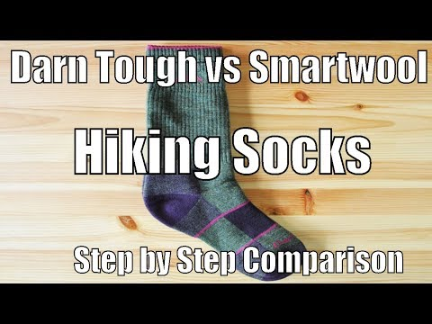 Darn Tough vs Smartwool Review -Step by Step Comparison