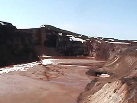 Trou De Mines - 9 Juin 2010 - Schefferville.MOD