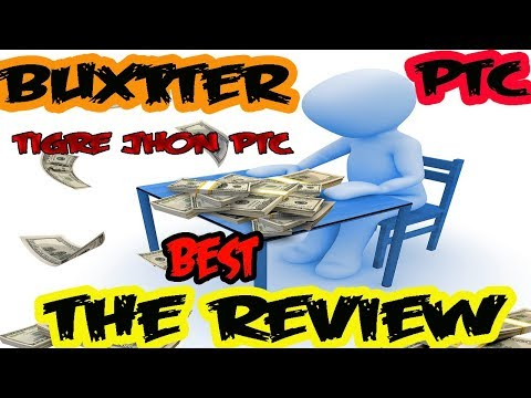 Buxxter A Trusted PTC 2018 Review  | Buxxter.com The Best Tutorial For Earn Money
