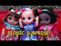 BABY ALIVE Morning Routine, Picnic Adventure & LOL SURPRISE DOLLS!