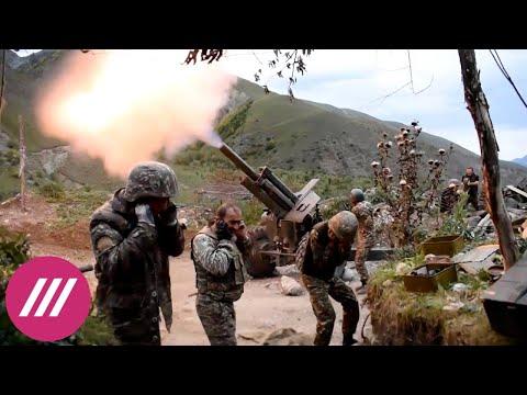 Война в Карабахе, день девятый. Обстрелы Тертера и Степанакерта, спецборт из России в Ереване