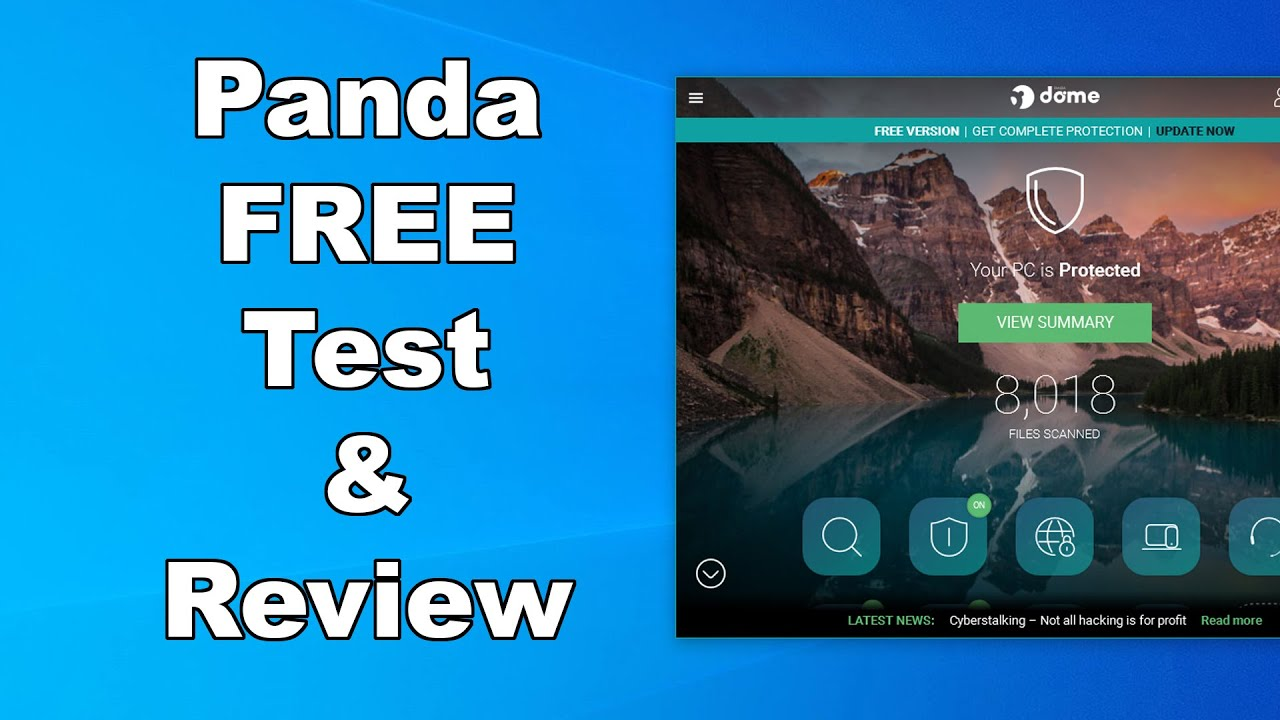 Panda Free Antivirus Test & Review 2020 - Antivirus Security Review - High Level Test