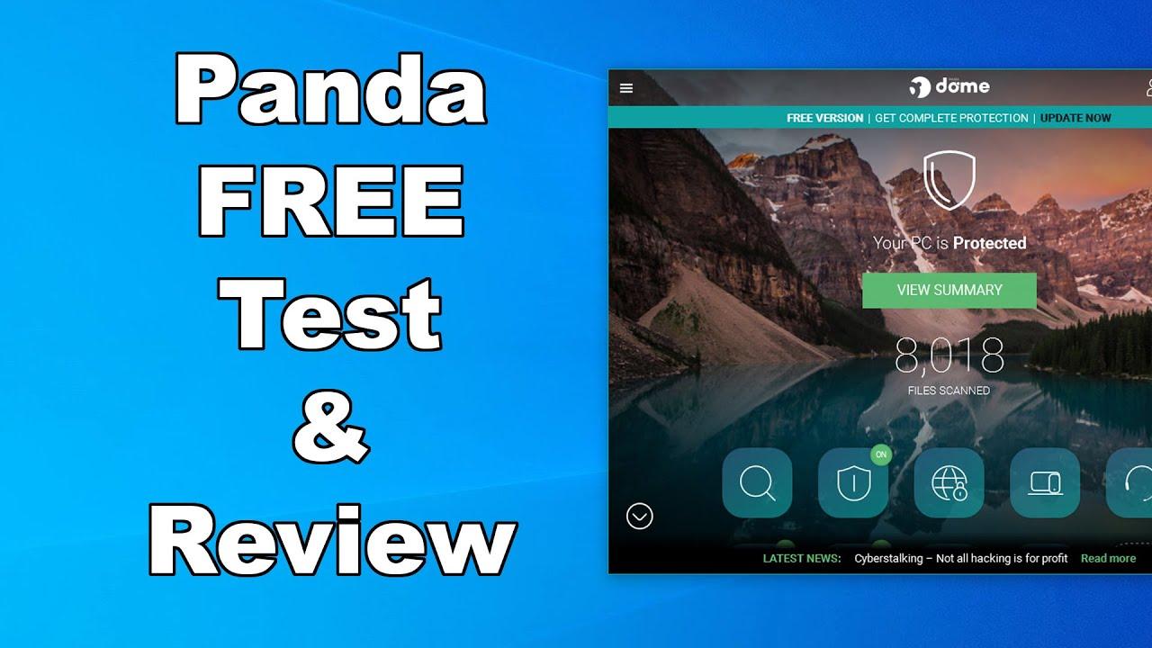 Panda Free Antivirus Test & Review 2020 - Antivirus Security Review - High Level Test