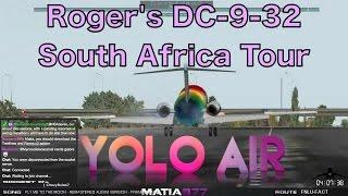 McDonnell Douglas DC-9 | FNLU-FACT | YOLO-Air | X-Plane 10 | 25 Mar 2014