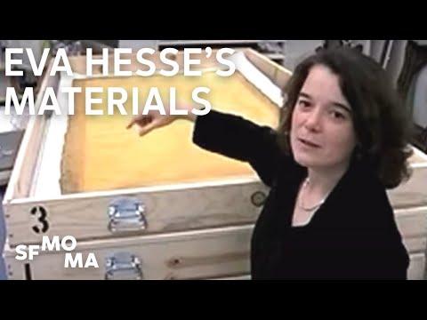 Eva Hesse's Materials