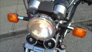My older classic muscle cruiser motorcycle -1982 Honda Magna V45 VF750c