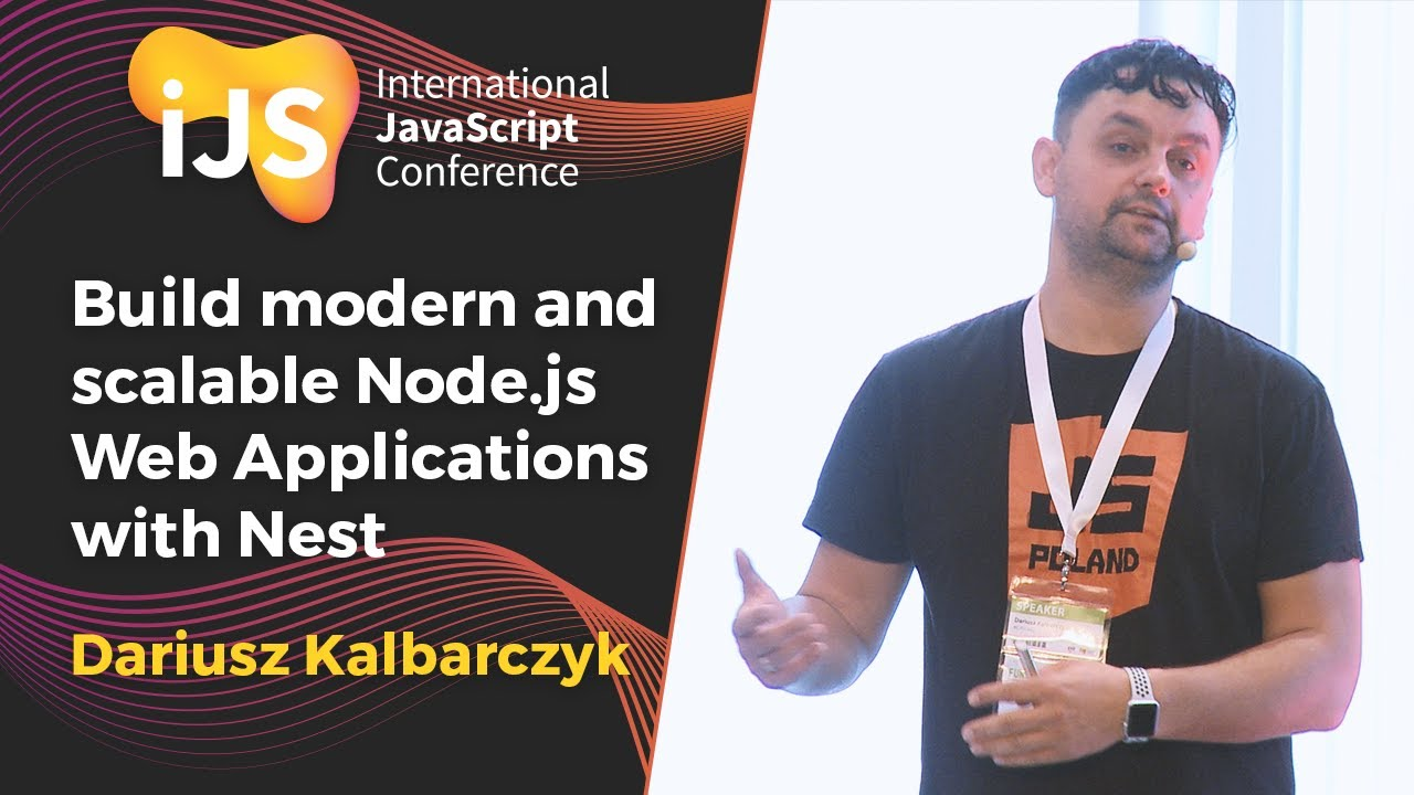 Build modern and scalable Node.js Web Applications with Nest   Dariusz Kalbarczyk