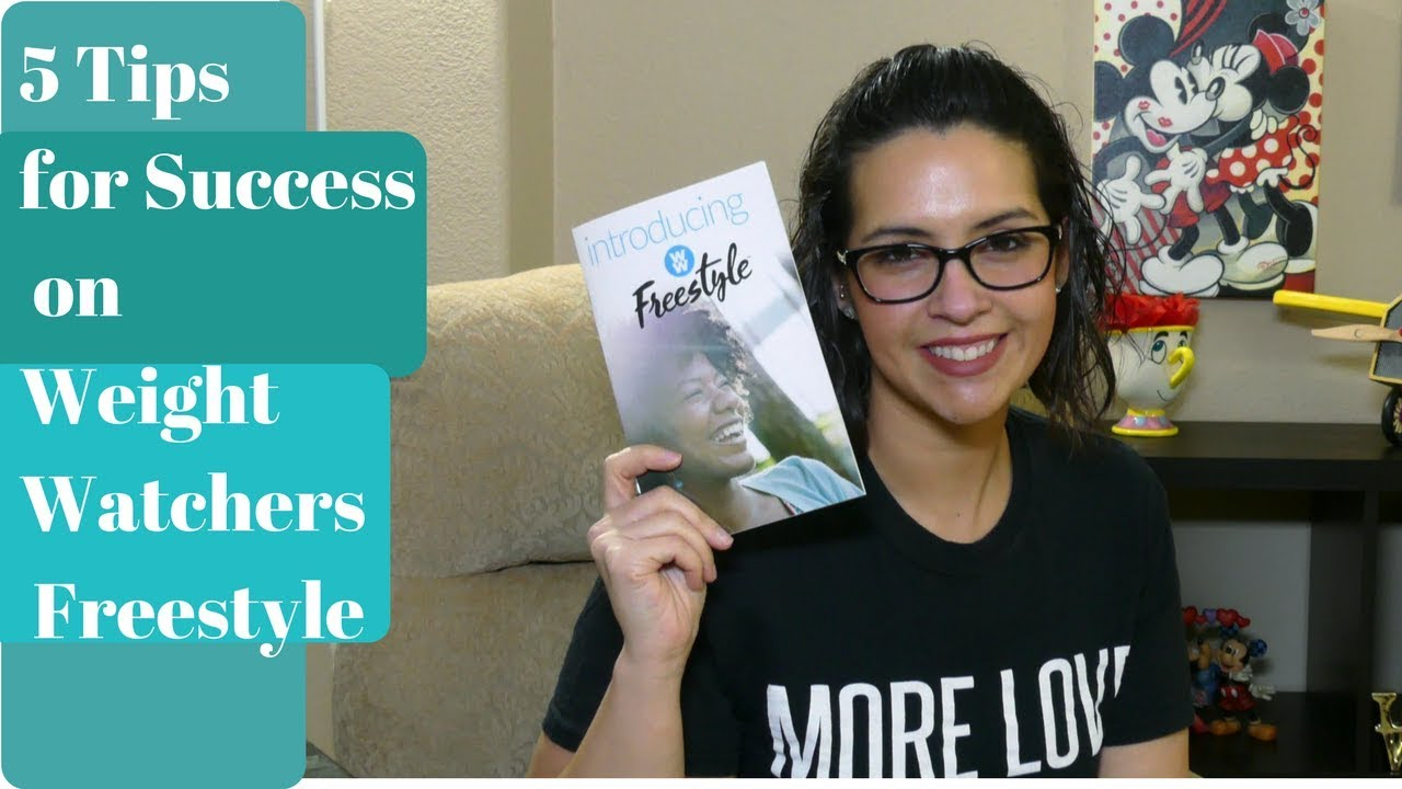 5 Tips for Success on Weight Watchers Freestyle