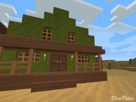 Western Wohnhaus Für Minecraft Desperado YouTube - Minecraft desperado hauser