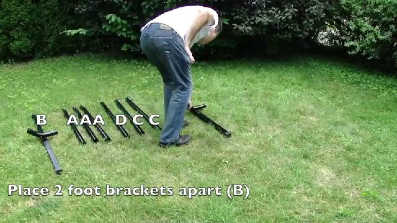 3-Beam Hammock Stand - 15 ft. by Hammock Universe USA - 3-Beam Hammock Stand - 15 Ft. By Hammock Universe USA - YouTube