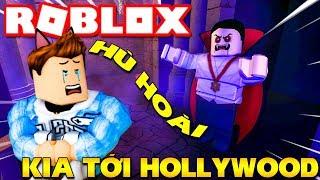 Roblox | MỘT NGÀY QUẨY BANH NÓC Ở HOLLYWOOD CỦA KIA - Movie Park | KiA Phạm
