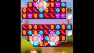 Candy Crush Friends Saga Level 696 - NO BOOSTERS 👩‍👧‍👦 | SKILLGAMING ✔️