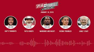 SPEAK FOR YOURSELF Audio Podcast (1.16.19) with Marcellus Wiley, Jason Whitlock | SPEAK FOR YOURSELF