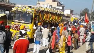 Nagar kirtan sahida singha ladhewal mahilpur Hoshiarpur